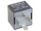 141951253B Wehrle Multi Purpose Relay; Multi-Use Relay with 4 Prong Connector; 12V/40A