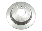 15010074 Bosch QuietCast Disc Brake Rotor; Rear; Solid 284x10mm