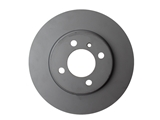 150125820 Zimmermann Disc Brake Rotor; Front; Vented 260x22mm