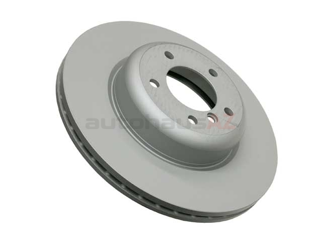 150346520 Zimmermann Coat Z Disc Brake Rotor; Front; Vented 338x26mm