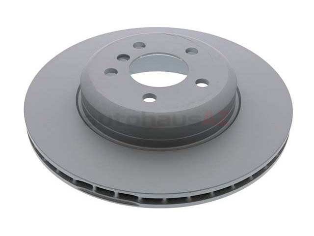 150348020 Zimmermann Coat Z Disc Brake Rotor; Rear; 345x24mm