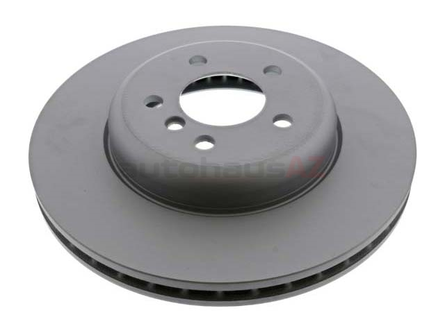 150348320 Zimmermann Coat Z Disc Brake Rotor; Front