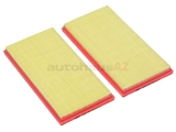 1560940504 Mann Air Filter Set; SET of 2