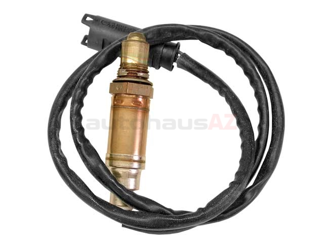 15680 Bosch Oxygen Sensor; After Catalytic Converter, Front Manifold; OE Version, Four Wire Heated; 990mm