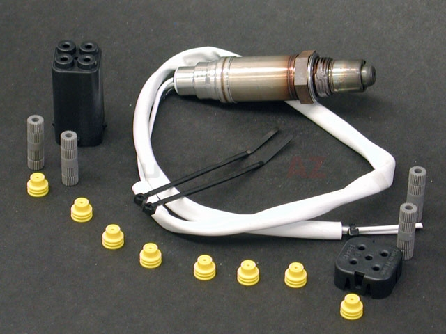 15735 Bosch Oxygen Sensor; Universal Version; Three Wire; Heated
