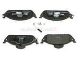 1634200320 Jurid Brake Pad Set; Front with Sensor; OE Compound