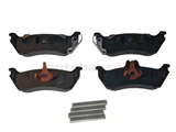 1634200520OE Genuine Mercedes Brake Pad Set; Rear