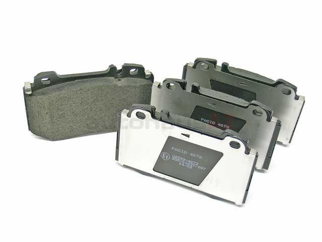 1634200620 Hella Pagid Brake Pad Set; Front; OE Compound