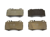 1634201020OE Genuine Mercedes Brake Pad Set; Front