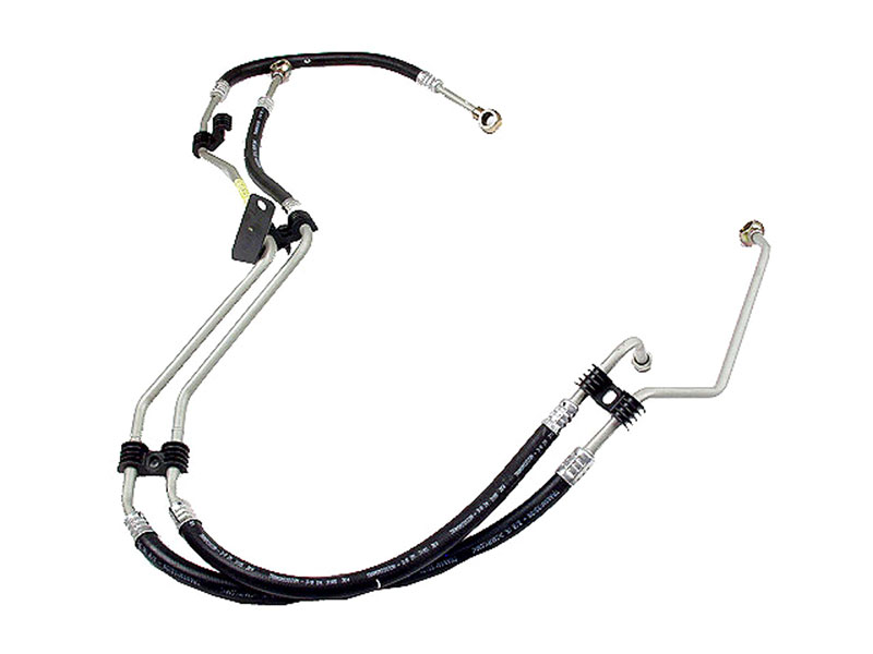 1635010424 Genuine Mercedes Auto Trans Oil Cooler Hose; Line Set, Transmission to Cooler