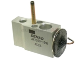 1638300084 Denso AC Expansion Valve; Without Seals
