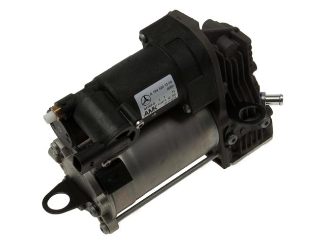Genuine Reman 164320120488 Suspension Air Compressor - Mercedes