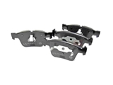1644201020OE Genuine Mercedes Brake Pad Set; Rear