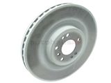 1644210512 Genuine Mercedes Disc Brake Rotor; Front, Vented 350mm Diameter