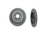 1644230612OE Genuine Mercedes Disc Brake Rotor; Rear