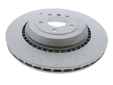 1644230812 Zimmermann Coat Z Disc Brake Rotor; Rear