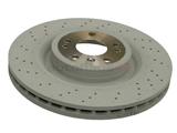 1664211012 Genuine Mercedes Disc Brake Rotor
