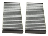 1668300318 Genuine Mercedes Cabin Air Filter Set; In Blower Housing; SET of 2