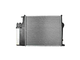 17111719309 Behr Radiator; With Expansion Tank