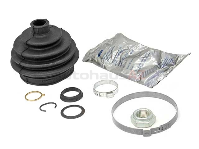 171498203 GKN Loebro CV Joint Boot Kit; Outer