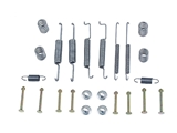 171698545 ATE Drum Brake Hardware Kit; Rear