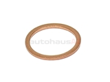 18X22X15CU Fischer & Plath Metal Seal Ring / Washer; 18x22x1.5mm; Copper