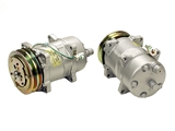 191820803 Mahle Behr AC Compressor; Complete with Clutch