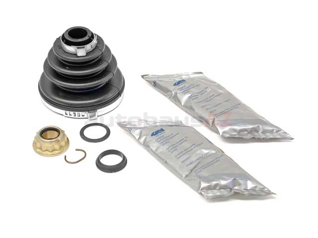 1H0498203A GKN Loebro CV Joint Boot Kit; Front Outer