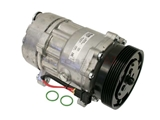 1H0820803D Nissens AC Compressor; Complete with Clutch; New