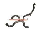 1J0121156AT Rein Automotive Heater Hose; Heater Core to Pipes; Hose Assembly with Quick Couplers