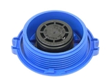 1J0121321BOE Genuine Radiator Cap/Expansion Tank Cap; Male Thread; Round