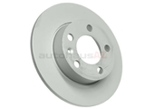 1J0615601C Zimmermann Coat Z Disc Brake Rotor; Rear ; Solid 232x9mm
