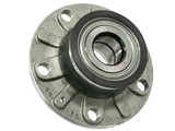 1K0598611 SKF Axle Bearing and Hub Assembly; Rear Assembly with Bearing; 30mm ID