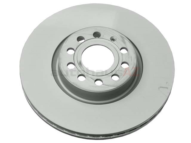 1K0615301AA Zimmermann Coat Z Disc Brake Rotor; Front; Vented 312 x 25mm