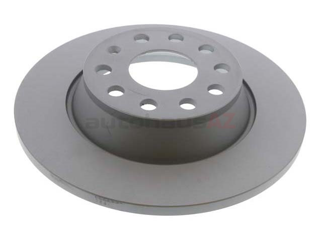 1K0615601M Zimmermann Coat Z Disc Brake Rotor; Rear; Solid 286 x 12mm