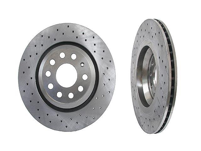 1K0615601NSP Zimmermann Sport Disc Brake Rotor