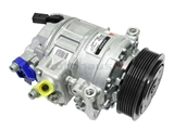 1K0820859SX Denso AC Compressor; New; w/ Clutch
