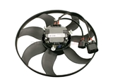 1K0959455N Mahle Behr Engine Cooling Fan Assembly; Left Side; 300W, 360mm Diameter; 4 Wire Connector
