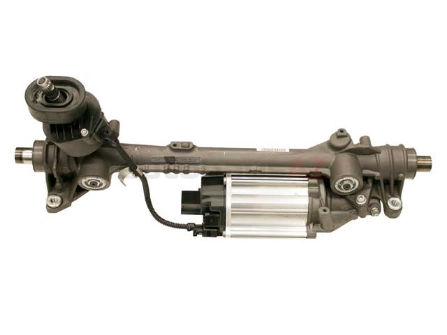 1K1423055M Bosch/ZF (OE Rebuilt) Rack & Pinion Complete Unit; Generation 3 Version; With Electric Pump