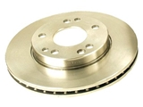 2014211512 Genuine Mercedes Disc Brake Rotor; Front; Vented
