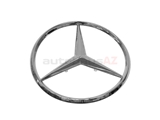 2017580058 Genuine Mercedes Deck Lid Emblem; Trunk Star