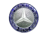 2018800088 Genuine Mercedes Emblem; Front Grille Mercedes Badge