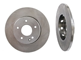 2024210212 Genuine Mercedes Disc Brake Rotor; Front; Solid with Vented Hub