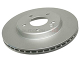 2024210912 ATE Coated Disc Brake Rotor; Front; Vented 284x22mm
