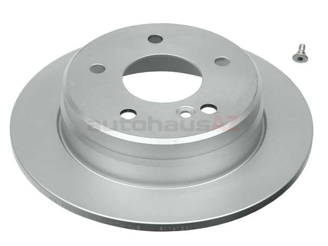2024230012 ATE Coated Disc Brake Rotor; Rear; Solid, 258x9mm