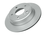 2024230012OE Genuine Mercedes Disc Brake Rotor; Rear; 258 mm