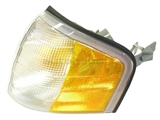 2028261143 Automotive Lighting Turn Signal Light Assembly; Front Left; Amber and Clear.