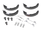 2034200120A ATE Parking Brake Shoe Set; With Hardware