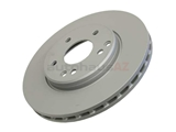 2034210312 Zimmermann Coat Z Disc Brake Rotor; Front; Vented 288x25.2x22.4mm