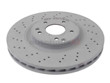 2034211312OE Genuine Mercedes Disc Brake Rotor; Front